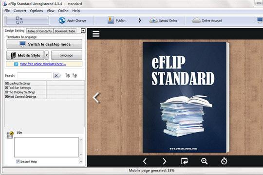 eFlip Book Converter