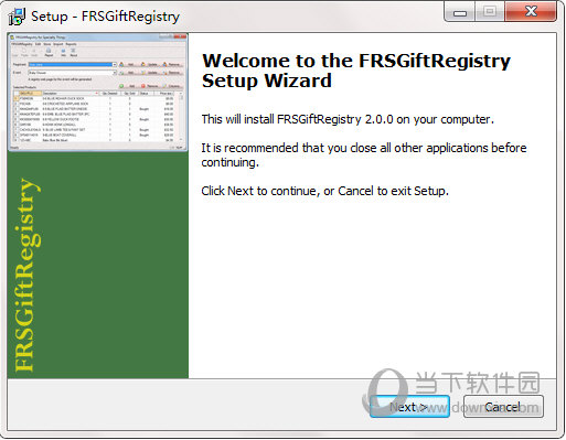 FRSGiftRegistry