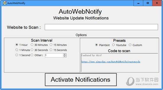 AutoWebNotify