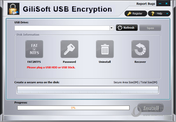 GiliSoft USB Encryption
