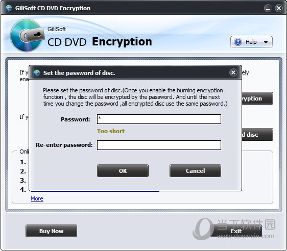 Gilisoft CD DVD Encryption