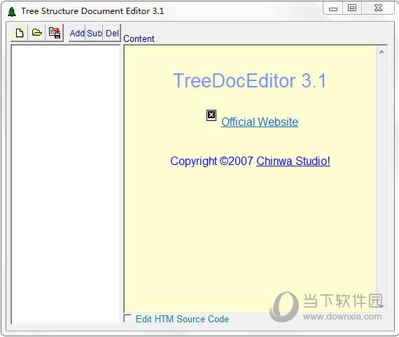 TreeDocEditor