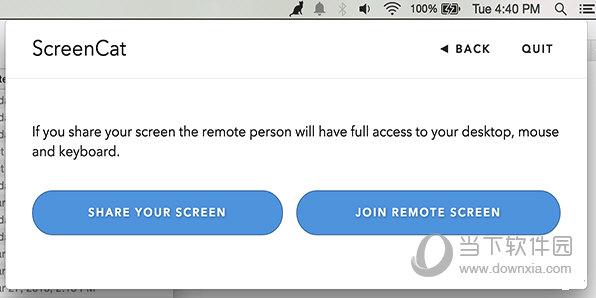 ScreenCat for Mac