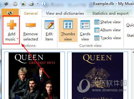 可以通过点击添加按钮来添加你的本地音乐