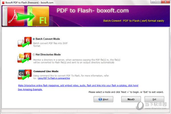 Boxoft PDF to Flash