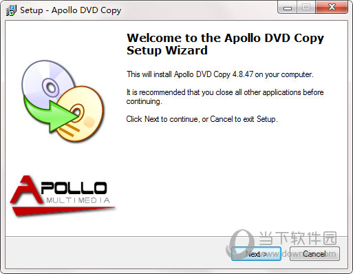 Apollo DVD Copy