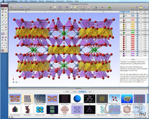 CrystalMaker for Mac