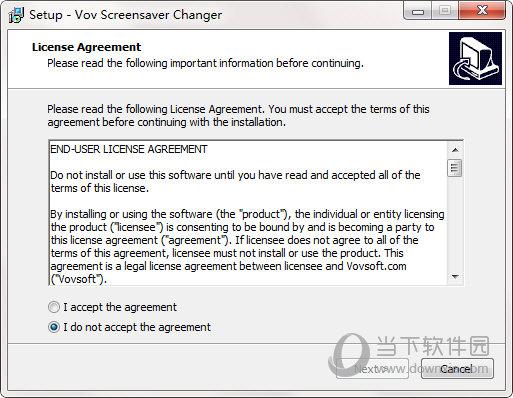 Vov Screensaver Changer