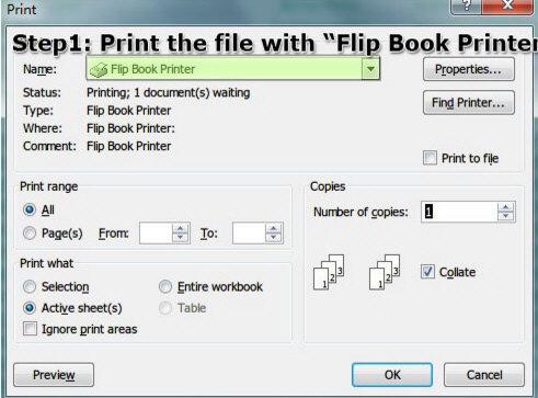 Boxoft Flipbook Printer
