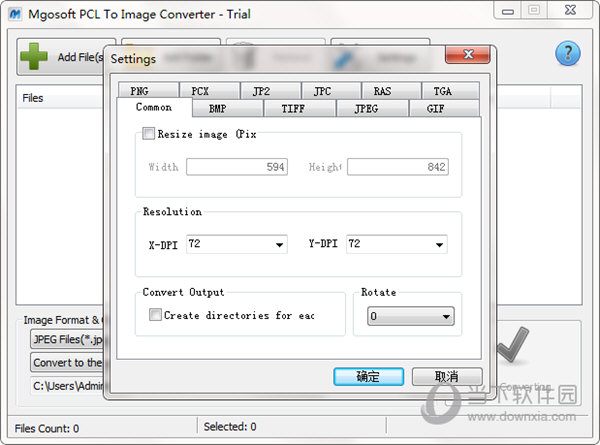 Mgosoft PCL To Image Converter