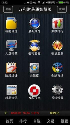 财易通智慧版 V7.21 安卓版截图1
