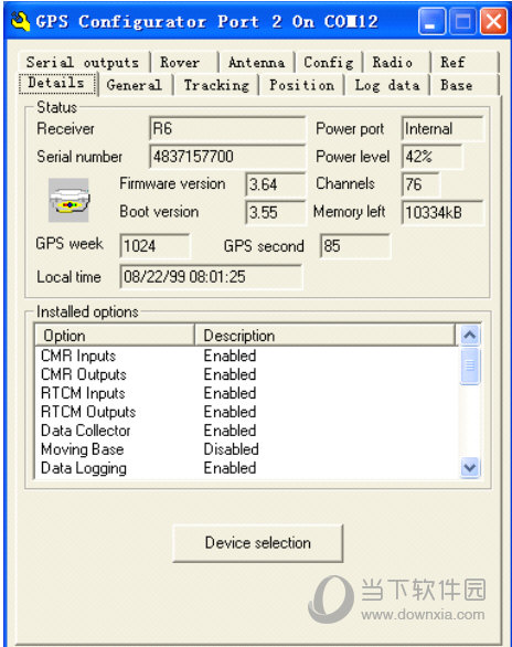 GPS Configurator