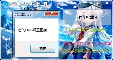 吟风检查DNS是否被劫持工具