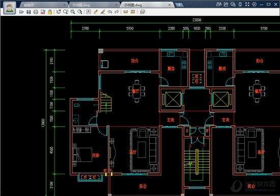 看钢筋图_CAD迷你看图软件|CAD迷你看图 V2018R7 官方免费版 下载_当下软件园 ...