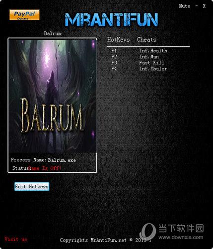 Balrum修改器