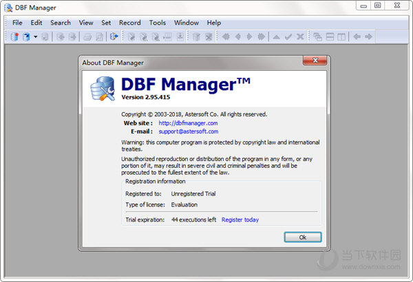 DBF Manager