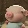 抖音小猪跑步表情包下载