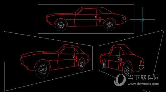 CAD二维投影插件