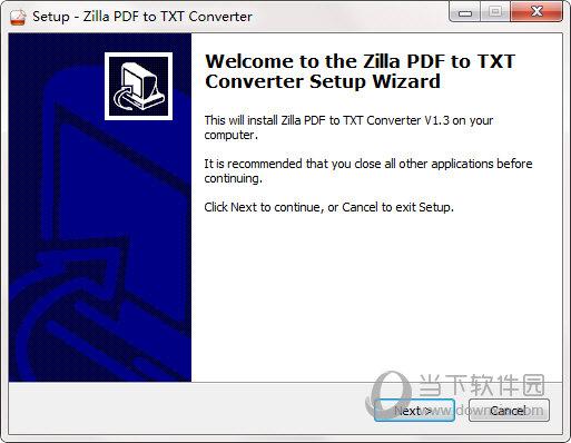 Zilla PDF to TXT Converter