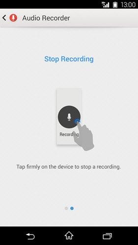 Audio Recorder(索尼录音软件) V2.00.35 安卓版截图1