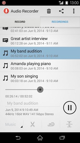 Audio Recorder(索尼录音软件) V2.00.35 安卓版截图2