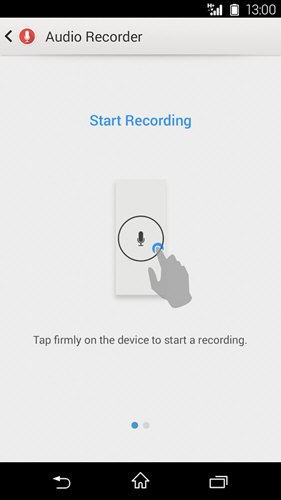 Audio Recorder(索尼录音软件) V2.00.35 安卓版截图4
