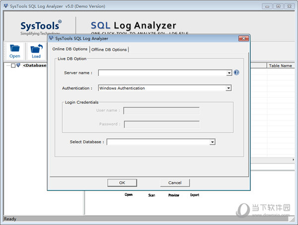 SysTools SQL Log Analyzer