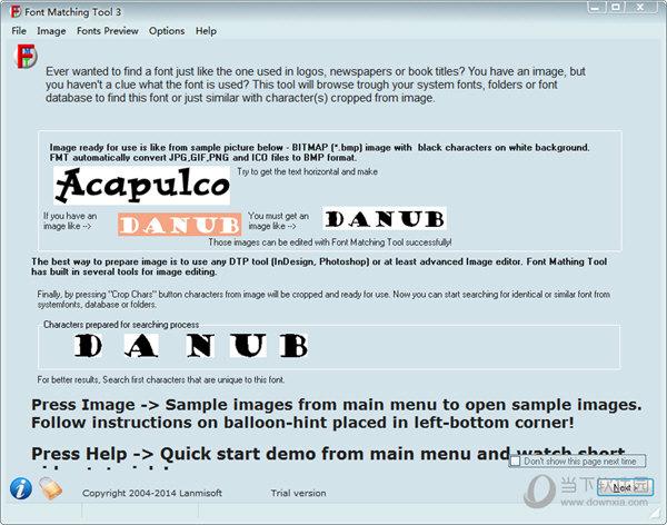 Font Matching Tool