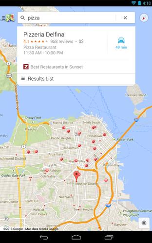 谷歌地图 V9.87.3 安卓版截图1