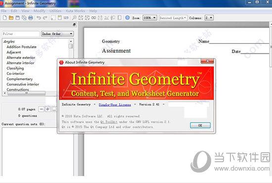 Infinite Geometry