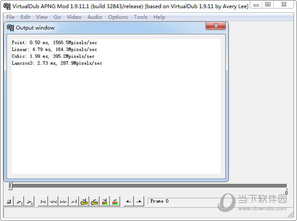 VirtualDub APNG Mod