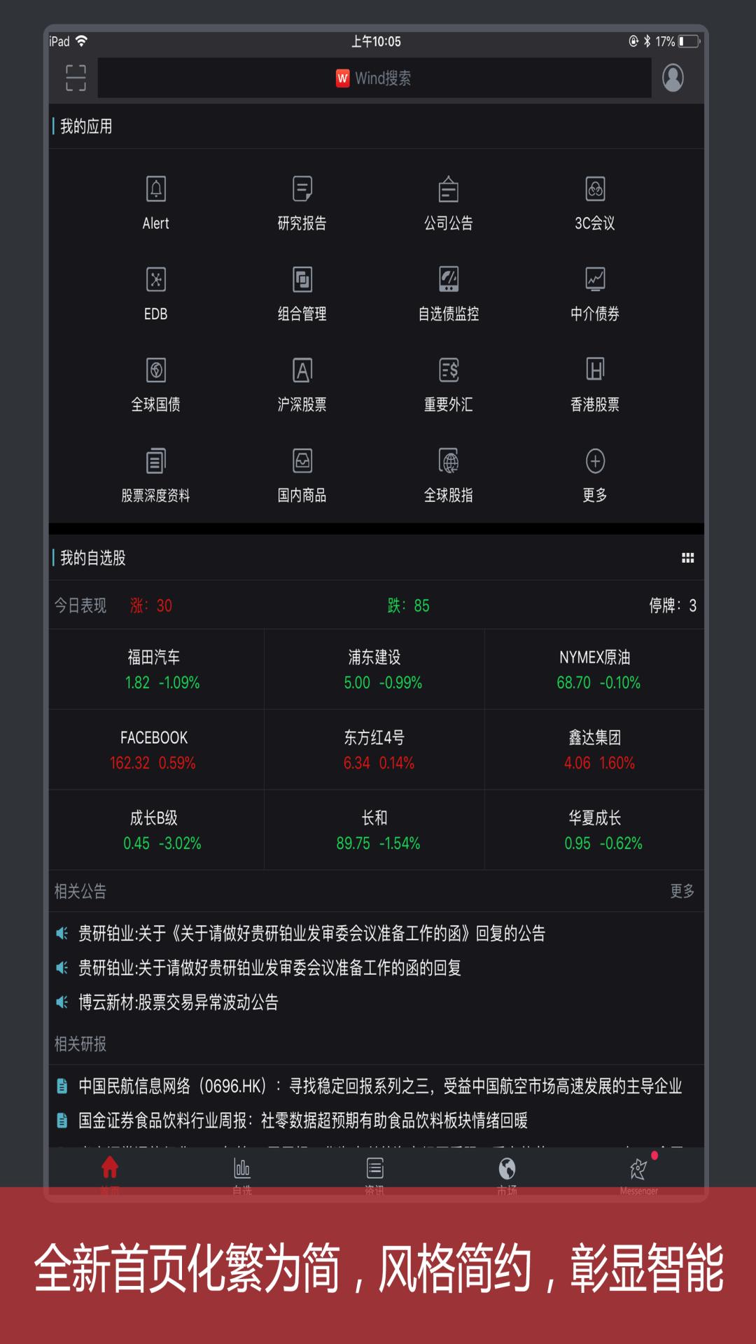 Wind金融终端 V5.0.1.0 安卓版截图5