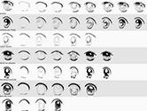女生漫画眼睛100种画法 初学者画眼睛的步骤图