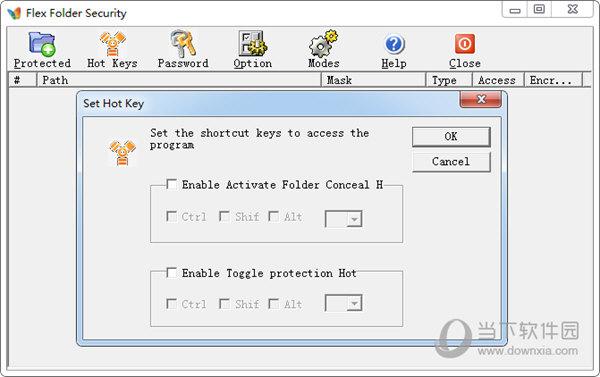 Flex Folder Security