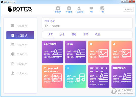 Bottos Data Exchange