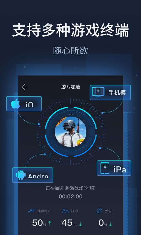 奇游手游加速器 V1.2.0 安卓版截图4