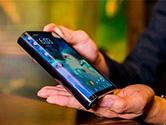 触屏时代里程碑?华为明年发布5G柔性折叠手机?