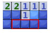 上边那个1对应的两个角块中有一个是雷