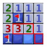 一个3和一个2并排在一起