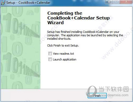 Cookbook+Calendar