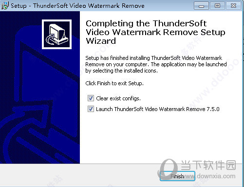 ThunderSoft Video Watermark Remove
