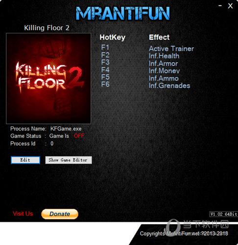 杀戮空间2五项修改器