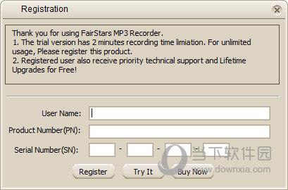 FairStars MP3 Recorder