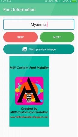 MiCustomFont(小米收费字体破解工具) V1.2 安卓版截图3