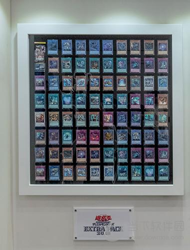 游戏王卡牌中心卡牌墙展示