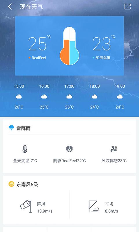 中国天气 V7.6 安卓去广告版截图3