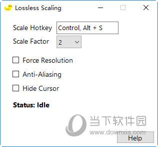 Lossless Scaling