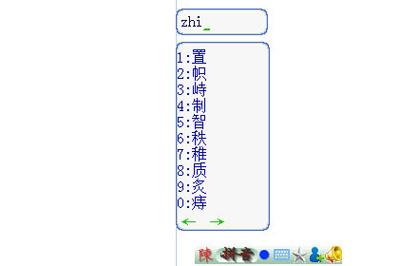 拼音码zhi