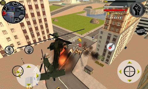 火柴人绳索英雄3无限金币版 V3.0 安卓版截图3