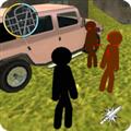 火柴人绳索英雄3无限金币版 V3.0 安卓版